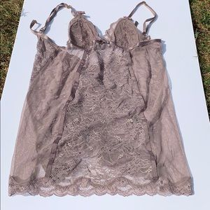 Victoria's Secret Lace Lingerie Top NWT